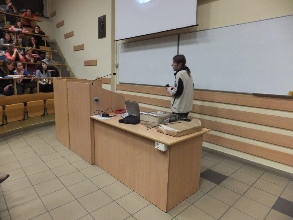 Wykład na UP